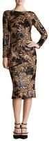 Dress the Population Emery Sequin V-Back Dress