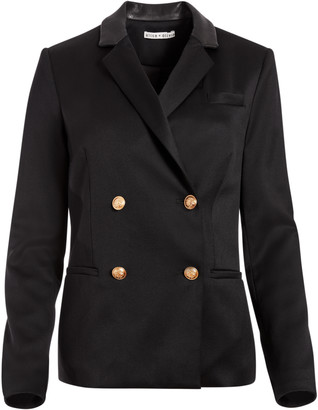 Alice + Olivia Bergen Double Breasted Blazer