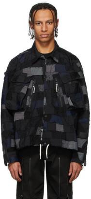 99% Is Black Patch Pocket Shirt Jacket