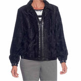 Alfred Dunner Talk Of The Town Faux Fur Jacket