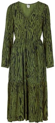 Baum und Pferdgarten Allessia printed wrap dress