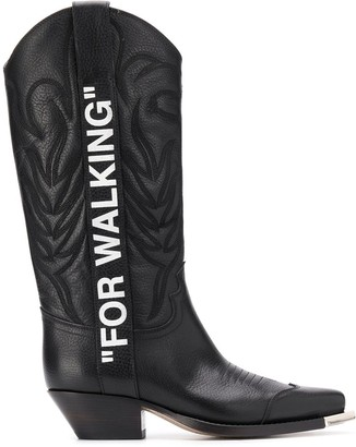 Off-White Cowboy Boots