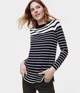 LOFT Petite Gradual Stripe Sweater