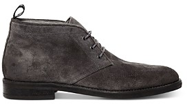 AllSaints Men's Huxley Suede Lace-Up Chukka Boots