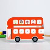 TOTSUP Personalised Magnetic Bus Reward Chart