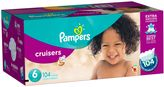 Pampers CruisersTM 104-Count Size 6 Economy Pack Plus Disposable Diapers
