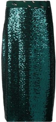 Altea Sequin-Embellished Mid-Length Skirt