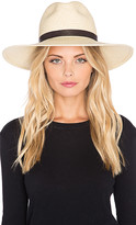 Janessa Leone Gloria Hat in Cream