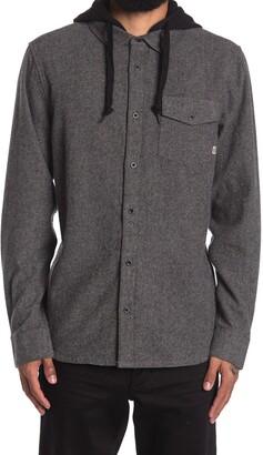 Vans Brodown Hooded Shirt Jacket