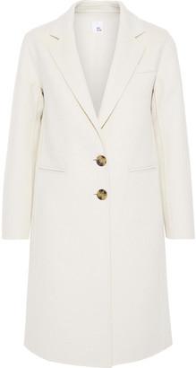 Iris & Ink Parry Wool-blend Felt Coat