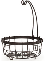 Mikasa General Store Center Piece Basket With Banana Hook