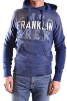 Franklin & Marshall Men's Blue Cotton Sweatshirt.