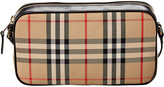 Burberry Small Vintage Check & Leather Camera Bag