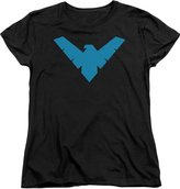 Batman DC Comics Nightwing Symbol Women's T-Shirt Tee