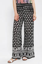 Urban Outfitters Staring At Stars Printed Wide-Leg Pant