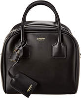 Burberry Small Cube Leather Shoulder Bag