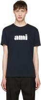 Ami Alexandre Mattiussi Navy Logo T-shirt