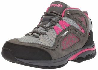 Propet Women's Peak Hiking Boot Grey/Berry 11 Wide Wide US