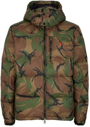 Polo Ralph Lauren Polo Pony Camouflage Puffer Coat