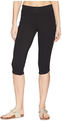 Royal Robbins Jammer Knit Knickers (Jet Black) Women's Casual Pants