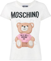 Moschino teddy logo t-shirt - women - Cotton - 36