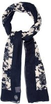 Tory Burch Wool Floral Scarf