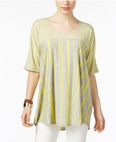 NY Collection High-Low T-Shirt