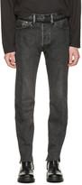 Vetements Black Levis Edition Classic Reworked Denim Jeans