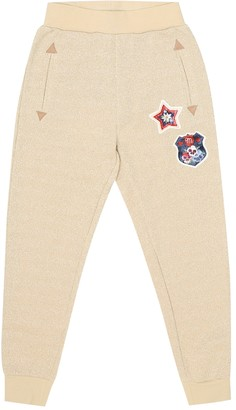 MonnaLisa Cotton-blend trackpants