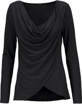 Tart Collections Haven draped wrap-effect stretch-modal top