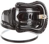 Fendi PVC Waist Belt