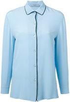 Prada contrast shirt