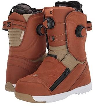 DC Mora BOA(r) Snowboard Boots (Brown) Women's Snow Shoes