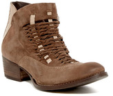 Rebels Cori Woven Suede & Leather Bootie