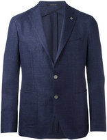 Tagliatore single breasted jacket - men - Cotton/Linen/Flax/Cupro - 52