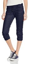 Tom Tailor Women's Relaxed Tapered 3/4 Length Trousers