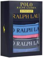 Polo Ralph Lauren Logo Waistband Boxer Briefs (Set of 3)