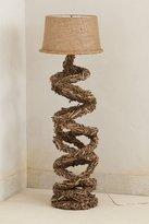 Anthropologie Twisted Twigs Floor Lamp