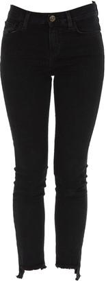 Pinko Frayed Hem Skinny Jeans
