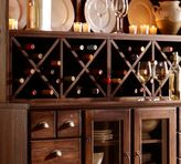 Pottery Barn Printer's Double Wine Rack