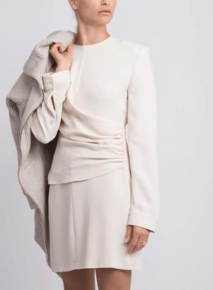 Stella McCartney Stretch Cady Gathered Dress