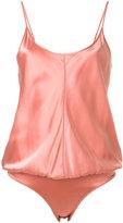Alexander Wang camisole-style bodysuit - women - Silk/Spandex/Elastane - 0