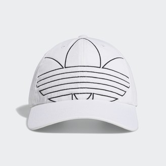 adidas Relaxed Outline Strap-Back Hat