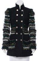 Chanel Embellished Wool Coat