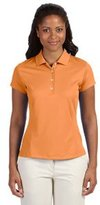 adidas Ladies' ClimaLite Solid Polo - M