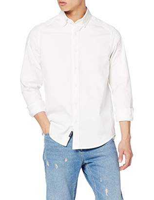 G Star Men's Stalt Button Down Pocket Straight Denim Shirt