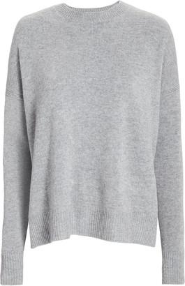 Derek Lam 10 Crosby Boxy Silk-Wool Crewneck Sweater