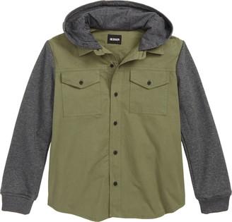 Hudson Hooded Shirt Jacket