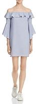 WAYF Kiera Off-the-Shoulder Ruffle Dress