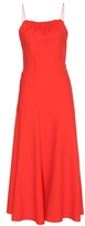 Victoria Beckham Ruched Cami Flare Dress